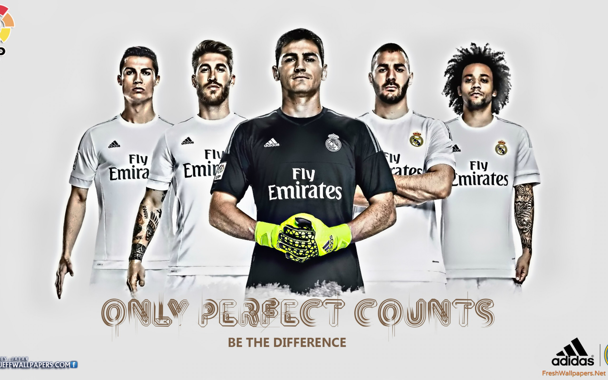 Real Madrid CF 2015 2016 HD wallpapers Freshwallpapers 2560x1600