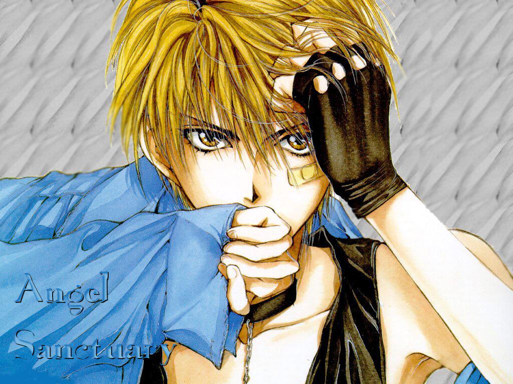 Alone In my own World Cute AniMe Boy 1024x768