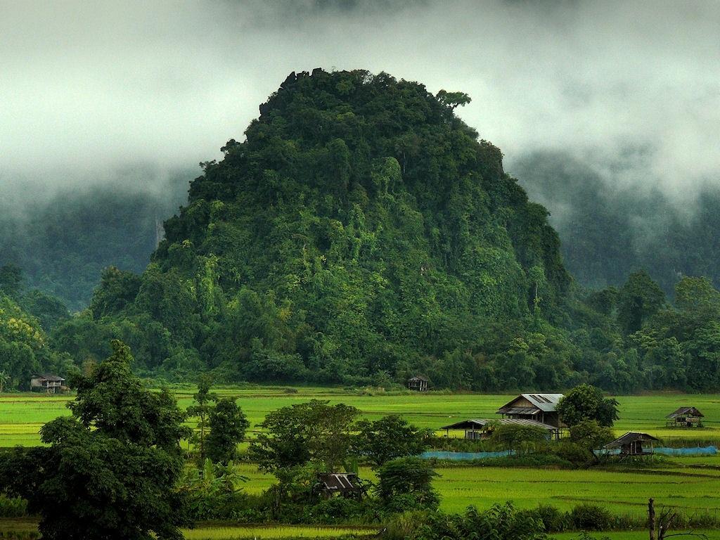Laos Rural Scenery Wallpaper Gabon Photo Shared By Irita 35 Fans 1024x768