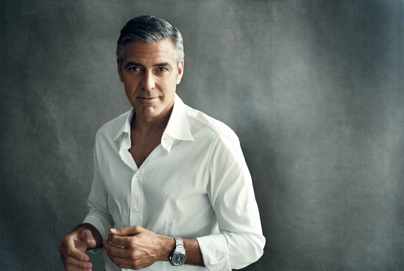 George Clooney Wallpapers Widescreen 31469X2 WallpapersExpertcom 1300x875