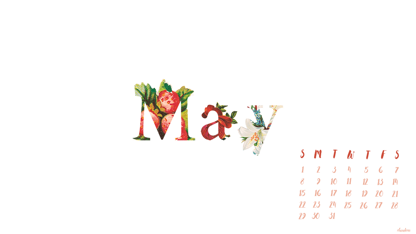 May Wallpaper desktop background Mai Blog Blogger 1400x788