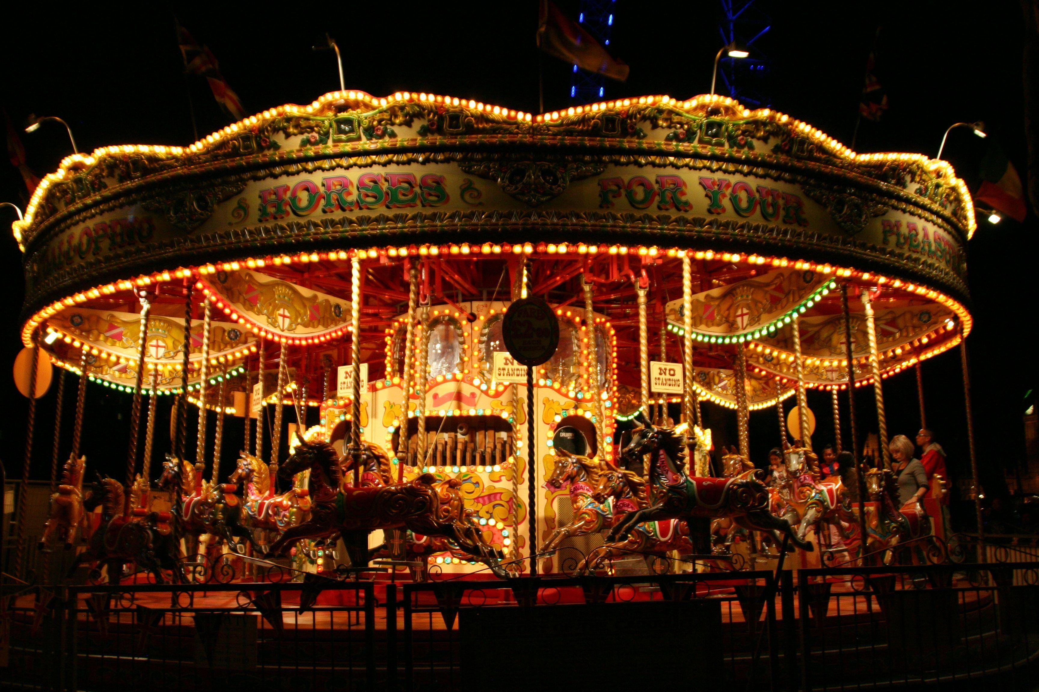 Merry go round Wallpapers 2016 3456x2304