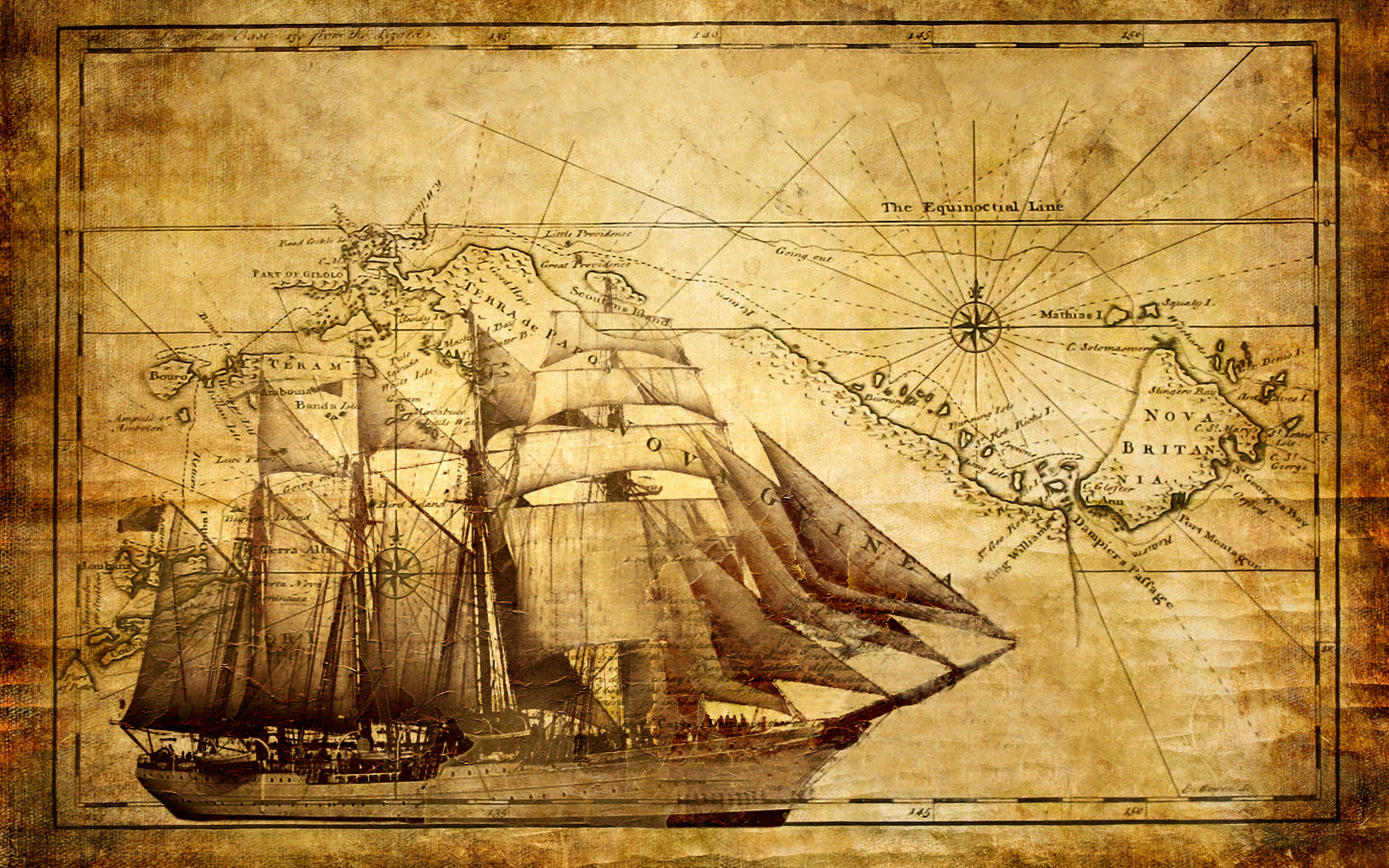 White Nautical Map Wallpaper Eclectic Wallpaper By Interior Place