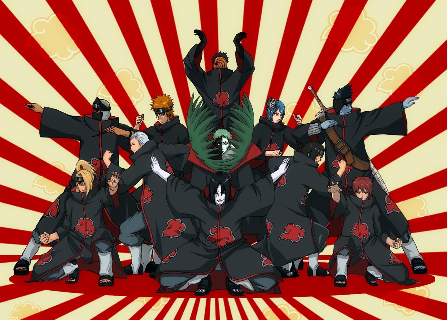 Naruto Wallpapers Akatsuki Download Wallpaper 1443x1033