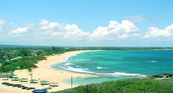 Puerto rico scenes wallpaper wallpapersafari - Puerto rico beach background ...