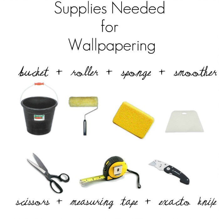 supplies needed for wallpapering