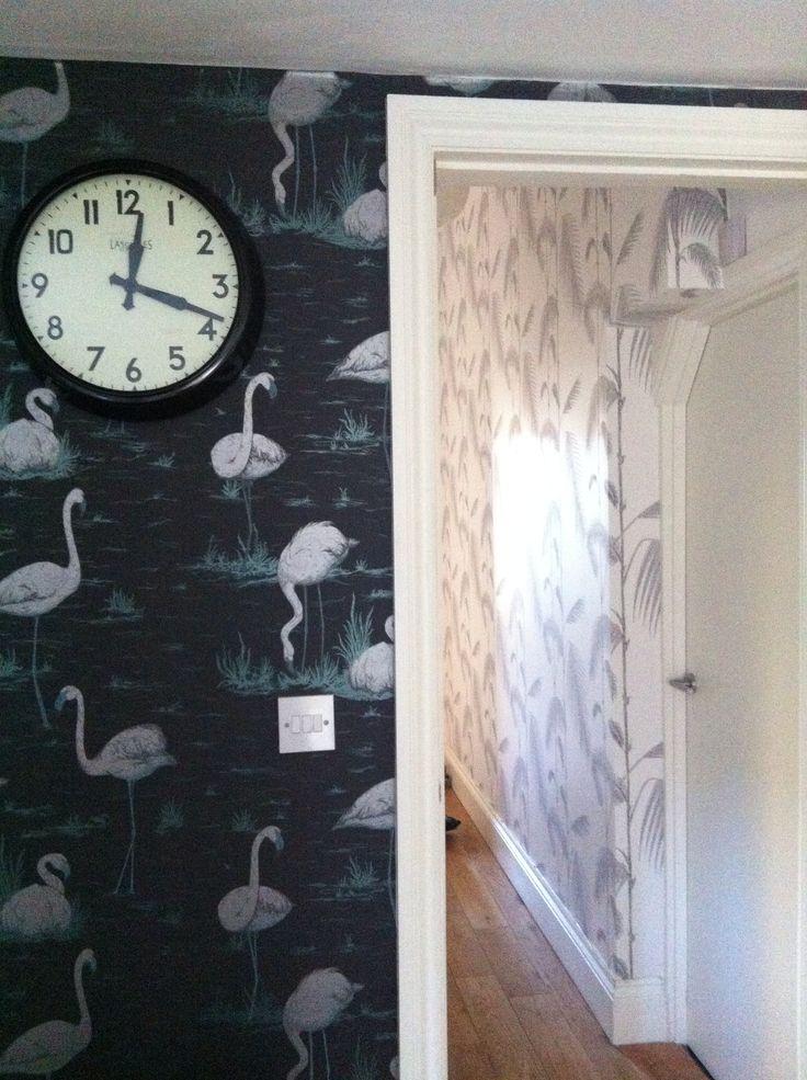 48 Cole And Son Flamingo Wallpaper On Wallpapersafari
