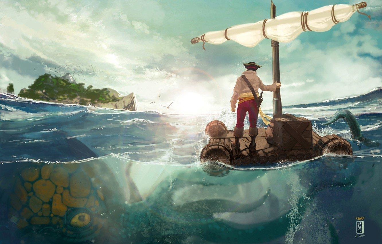 Raft   Wallpaper 1332x850