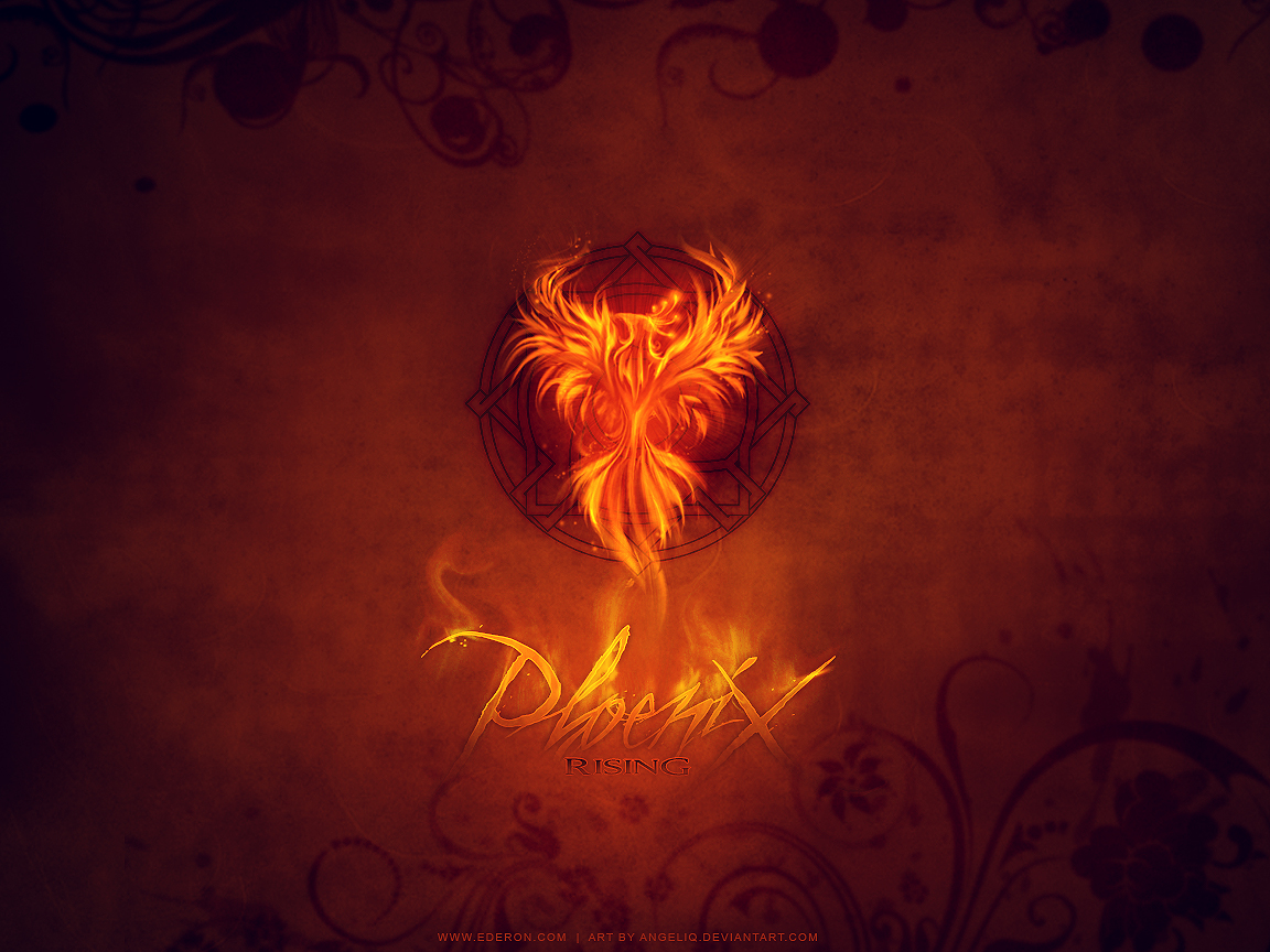 Phoenix rising wallpaper by Angeliq 1152x864