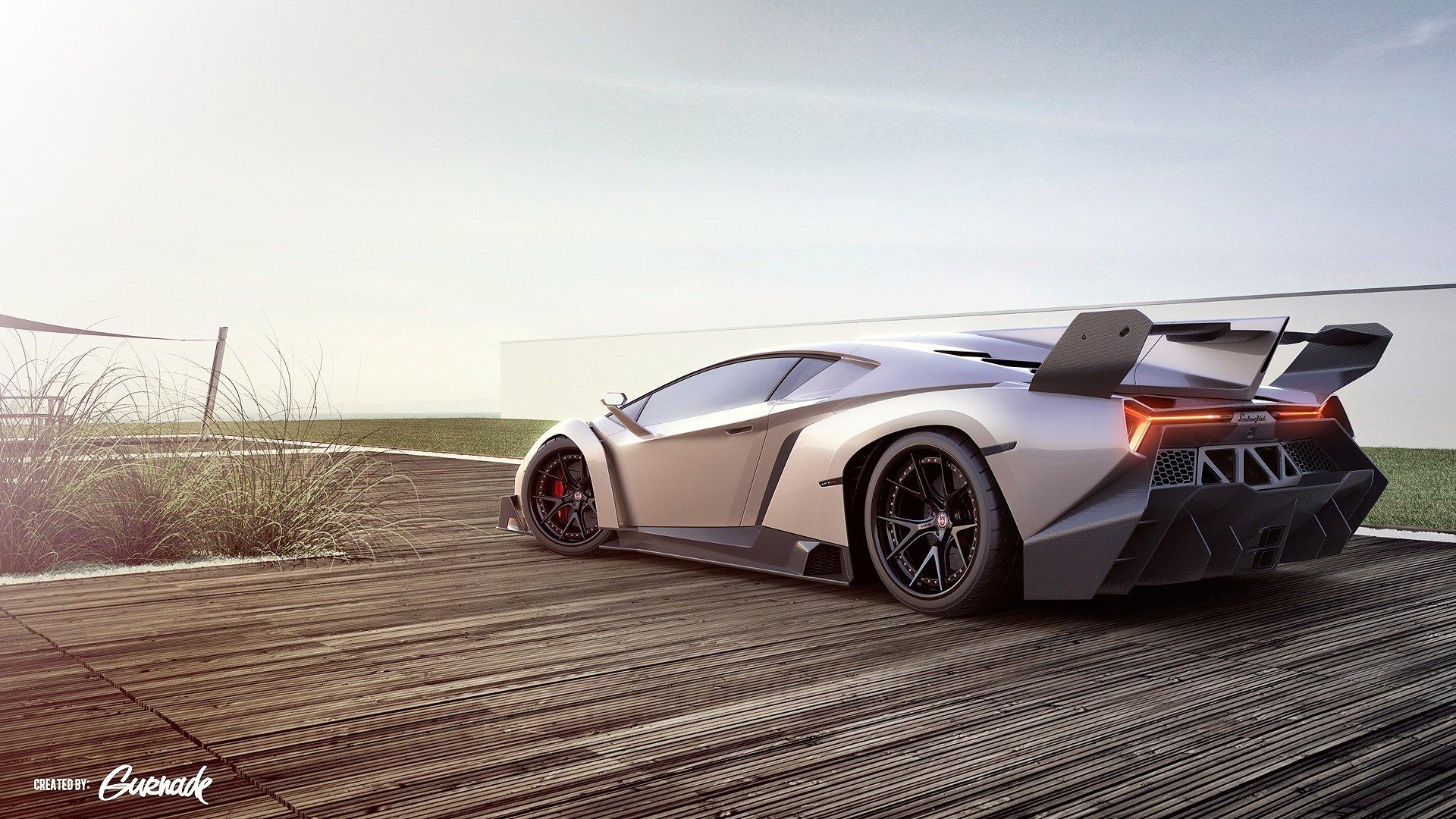 Lamborghini Veneno Sports Car Wallpapers   HD Wallpapers