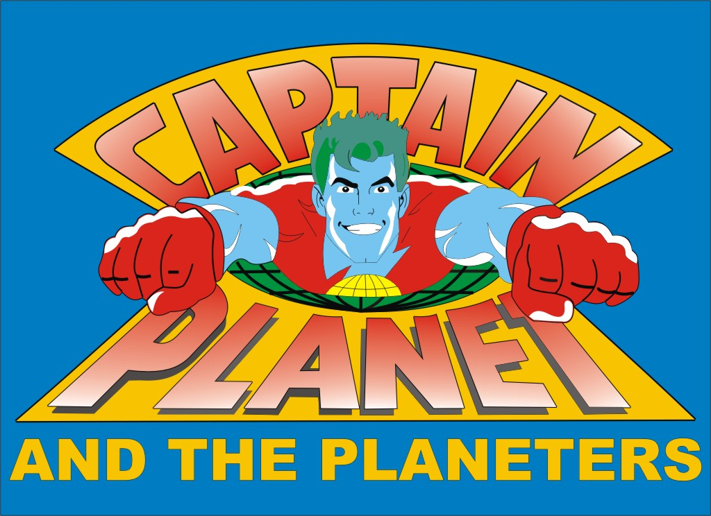 Captain Planet and the Planeteers by liferuller 1024x744