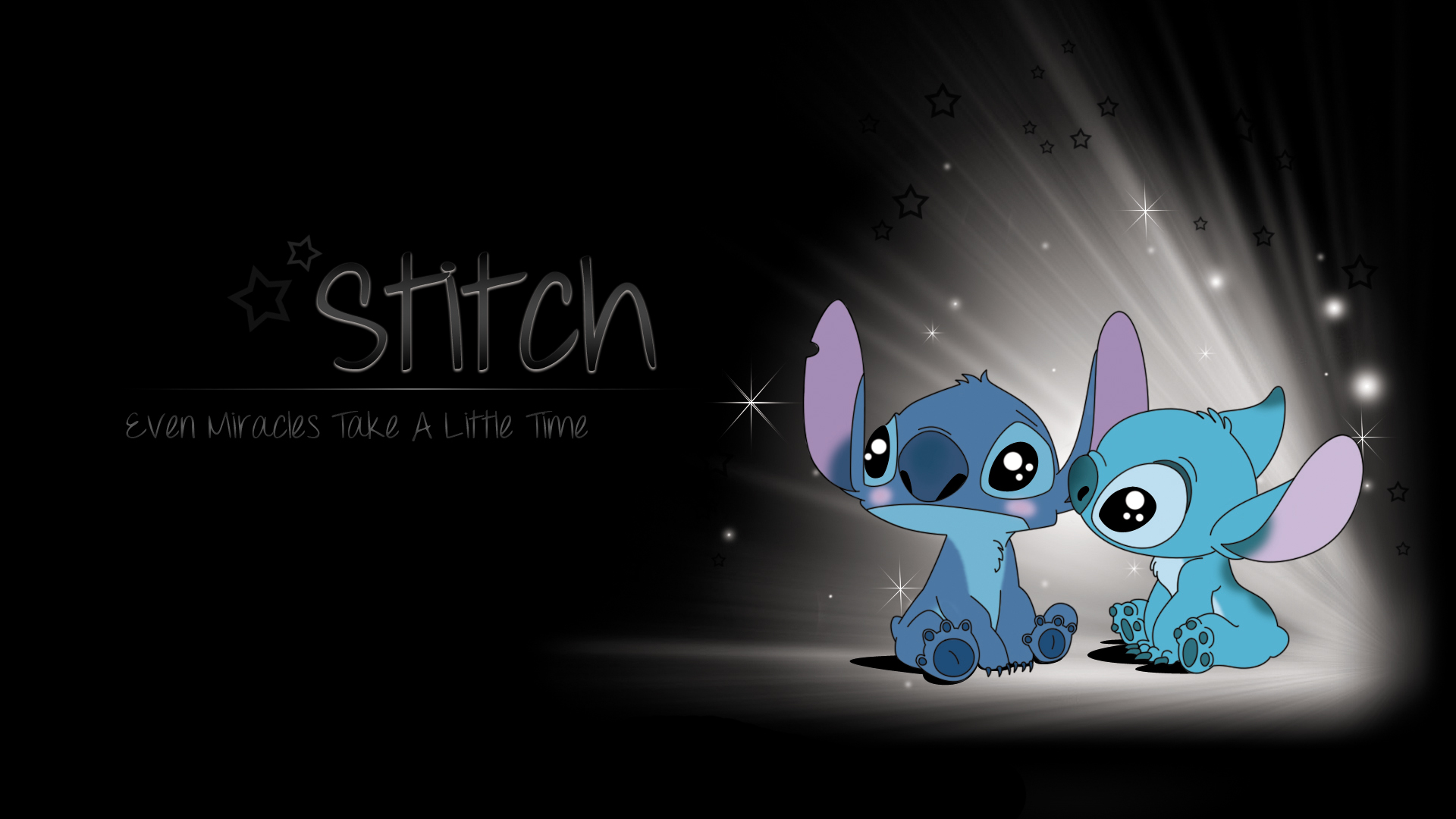 Free Download Sad Stitch Wallpaper Stitch Wallpaper