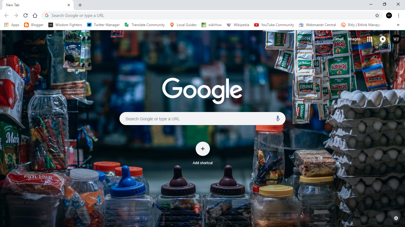 How to Change Your Wallpaper on Google Chrome 11 Steps 1366x766