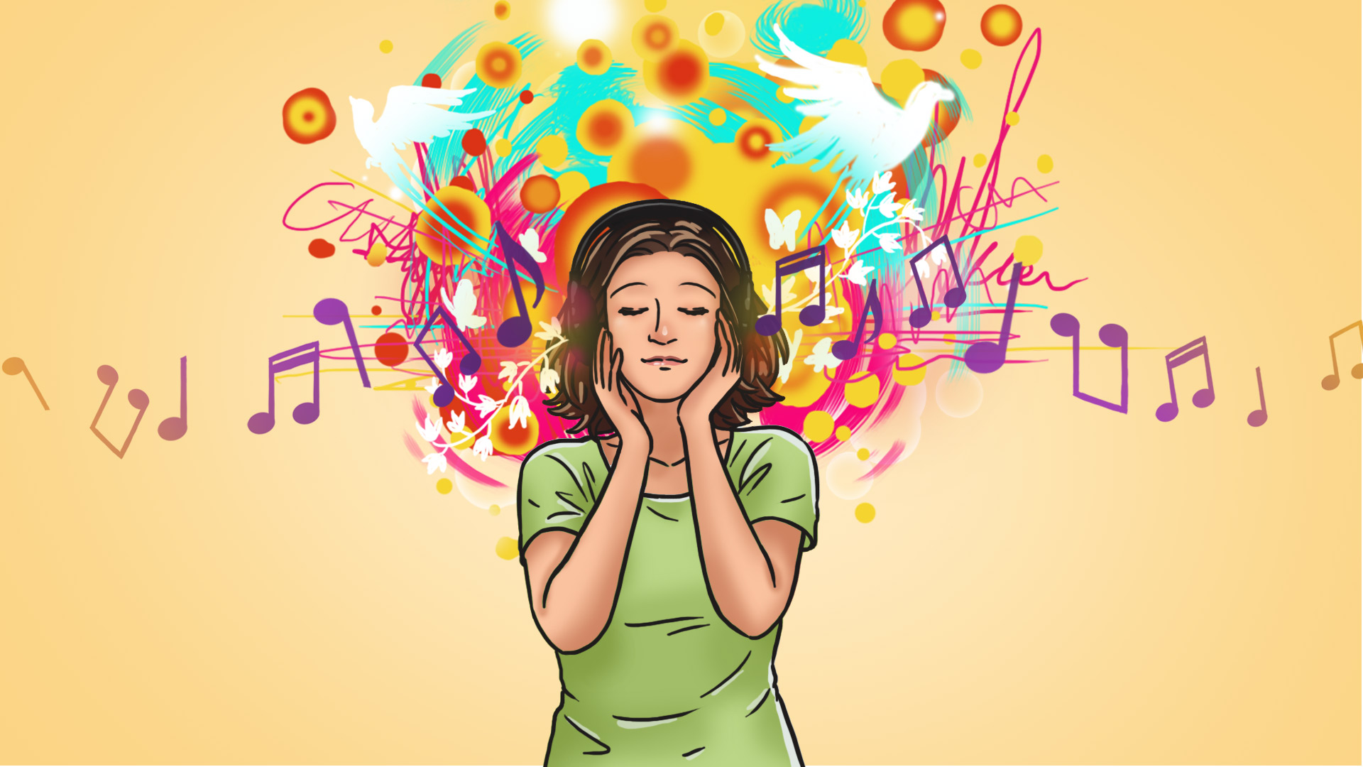 Seeing Music   Synesthesia Meditation 1920x1080