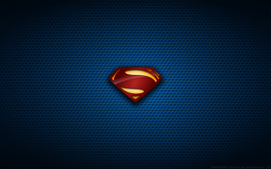 Wallpaper   Man Of Steel Suit Logo by Kalangozilla 900x563