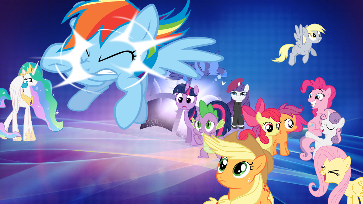 MLP FIM WallpaperFor Windows 8 and 7 by SapphireWondershine on 1191x670