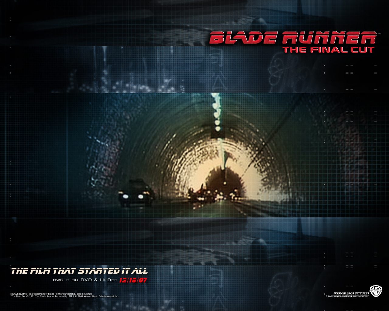 Official Blade Runner Wallpaper   Blade Runner Wallpaper 8207501 1280x1024