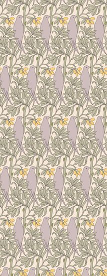 The Purple Bird   Trustworth Studios Contemporary Pattern Pintere 214x550