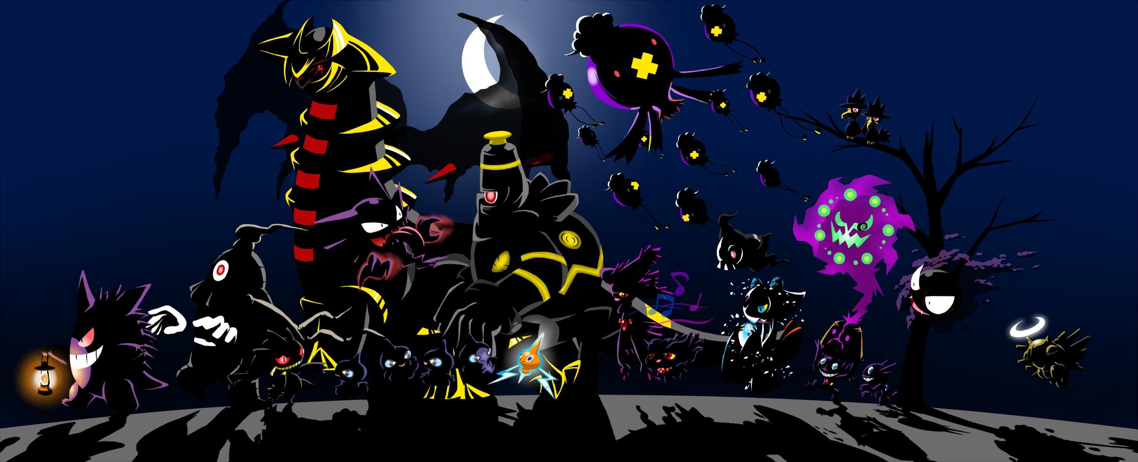 Pokemon Ghost Battle 2269x921