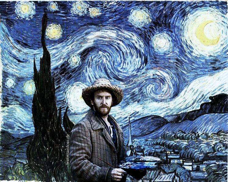 Doctor Who Vincent Van Gogh Wallpaper