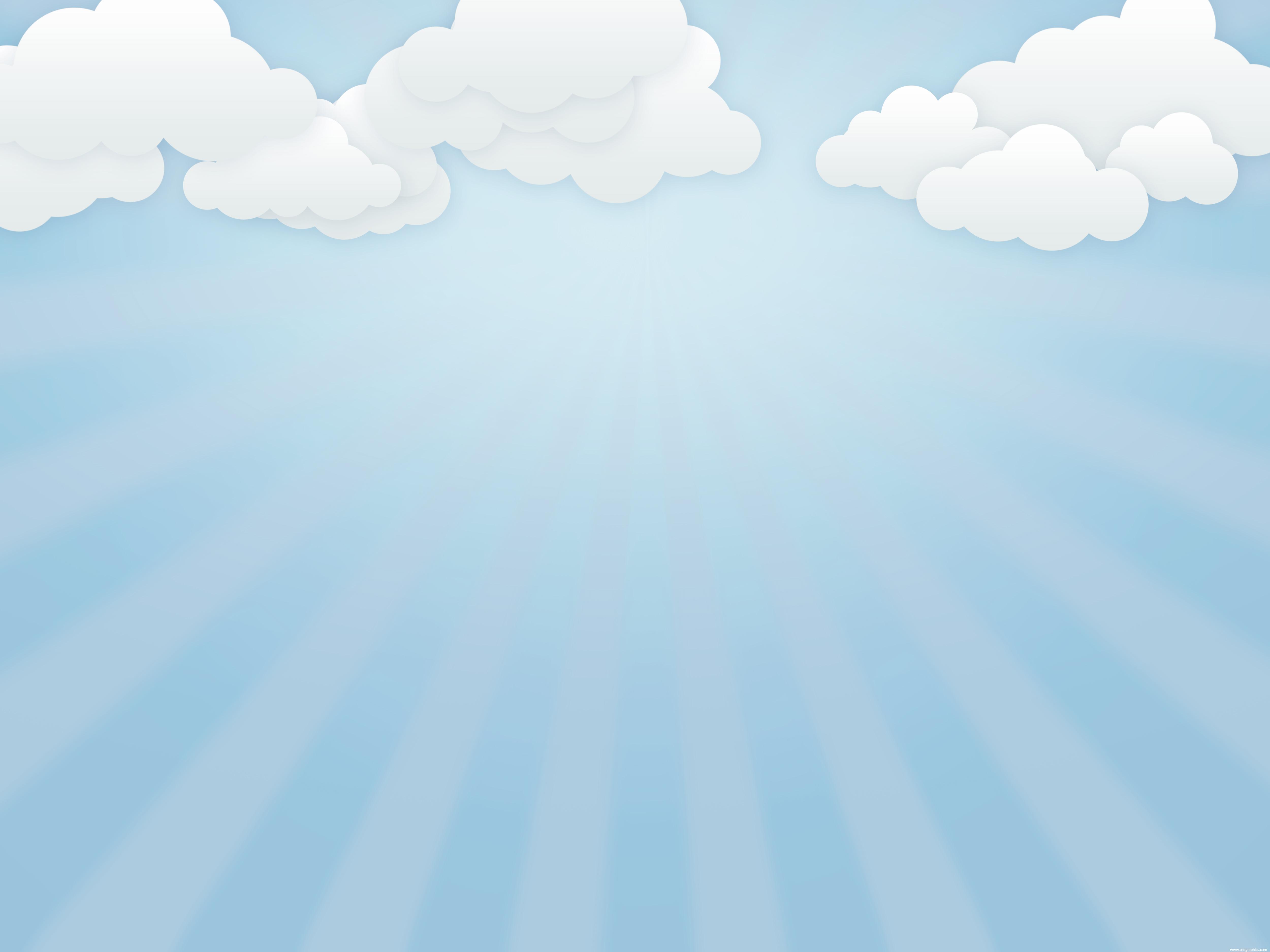 Light Sky Blue Background 5000x3750