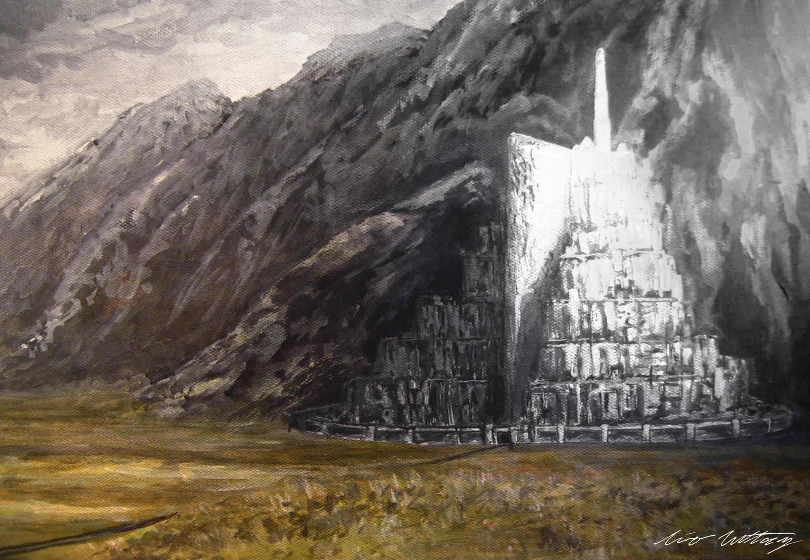 Minas Tirith Wallpaper Wallpapersafari