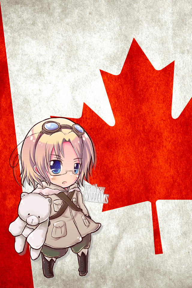 Hetalia iWallpapers   Canada by Dreamweaver38 640x960