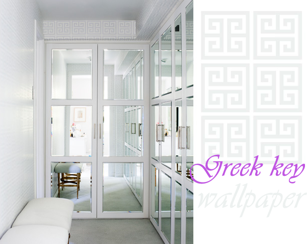 Go Back Gallery For Greek Key Wallpaper 610x484