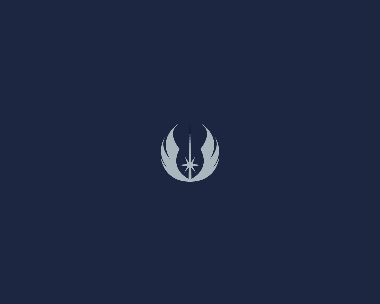 Viewing Gallery For   Star Wars Jedi Logo 1280x1024