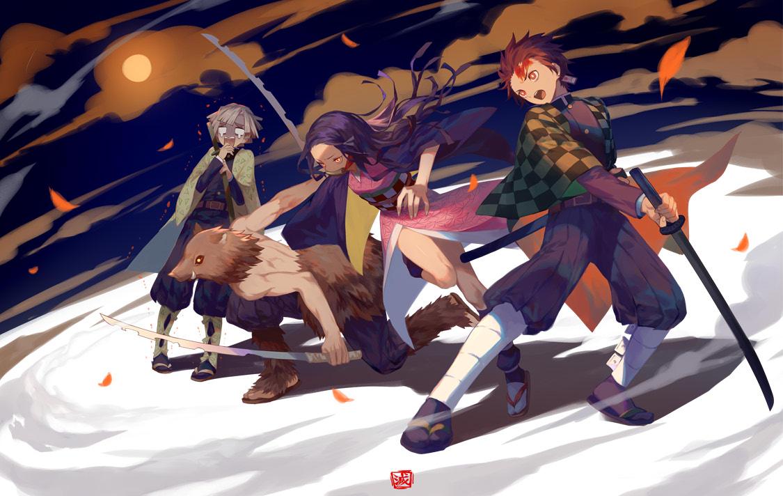 Kimetsu no Yaiba   Zerochan Anime Image Board 1125x712