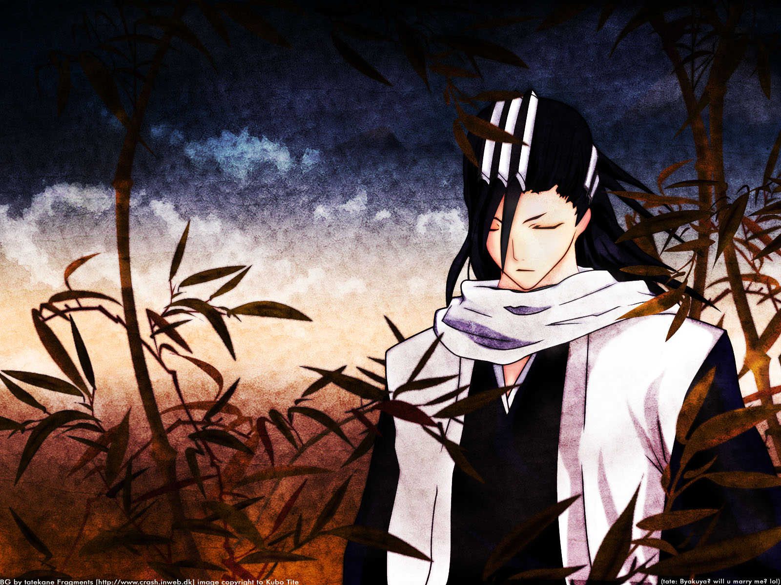 Kuchiki Byakuya   Bleach Wallpaper Anime Wallpapers 1600x1200