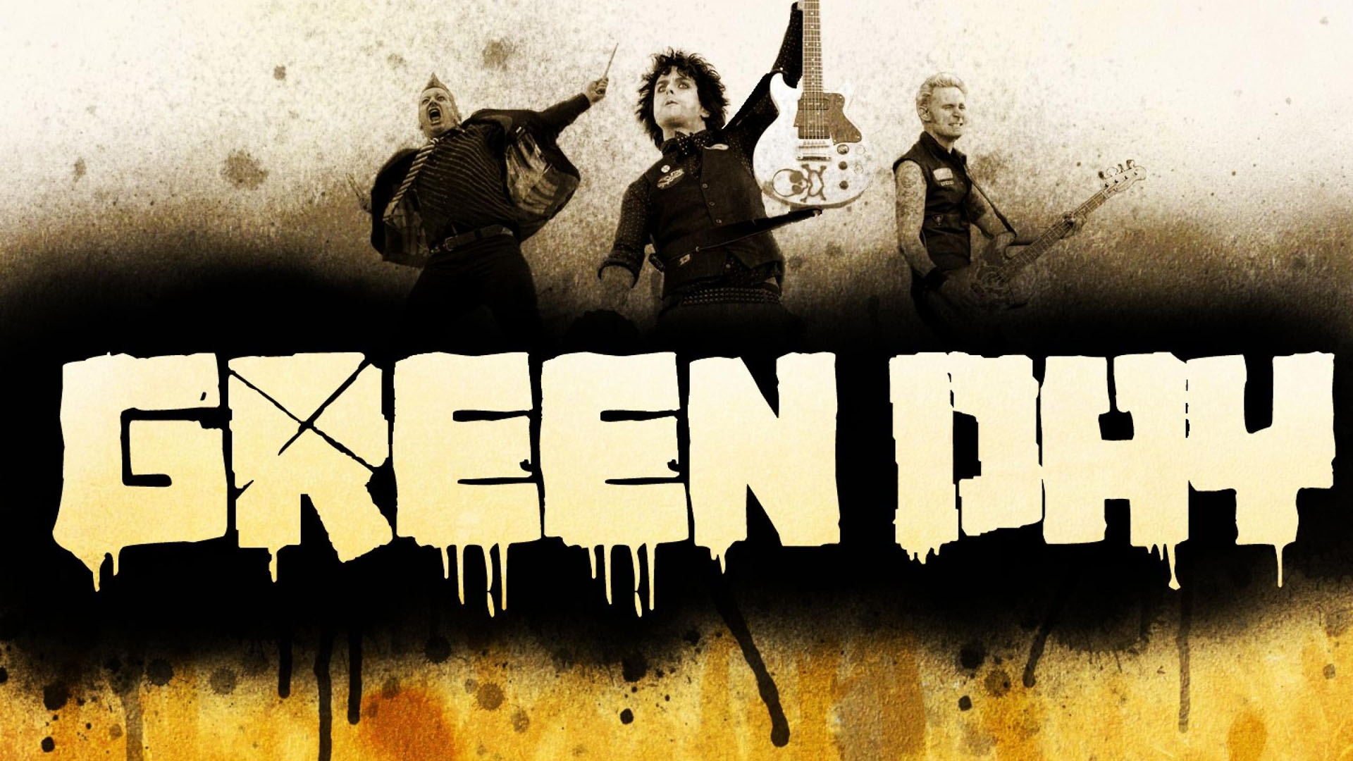 Green Day Rock Band 2013 Music Image Gallery HD Wallpaper Widescreen 1920x1080