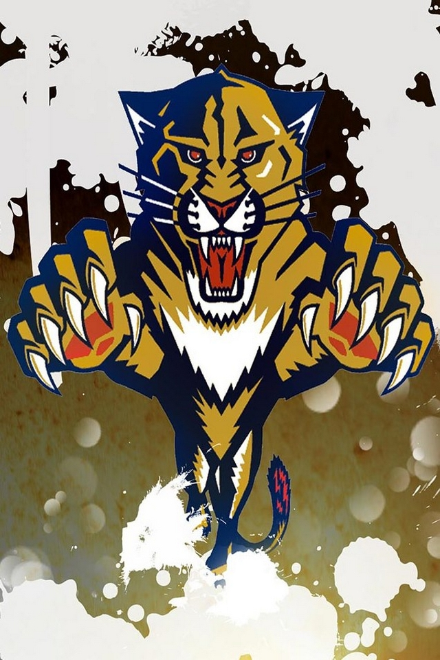 Panthers logo   Download iPhoneiPod TouchAndroid Wallpapers 640x960