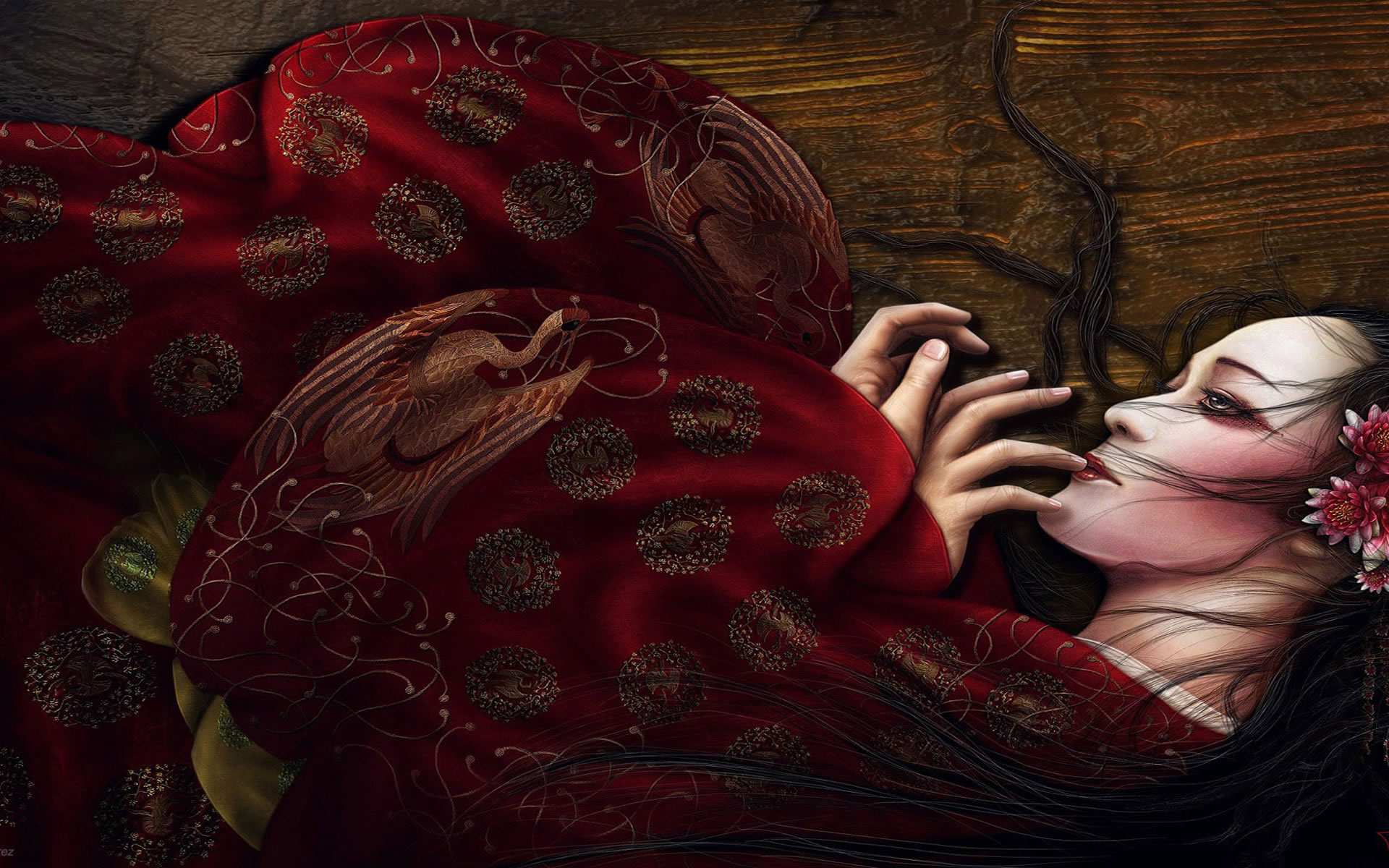 Geisha Wallpaper Imgenes de Miedo y Fotos de Terror 1920x1200