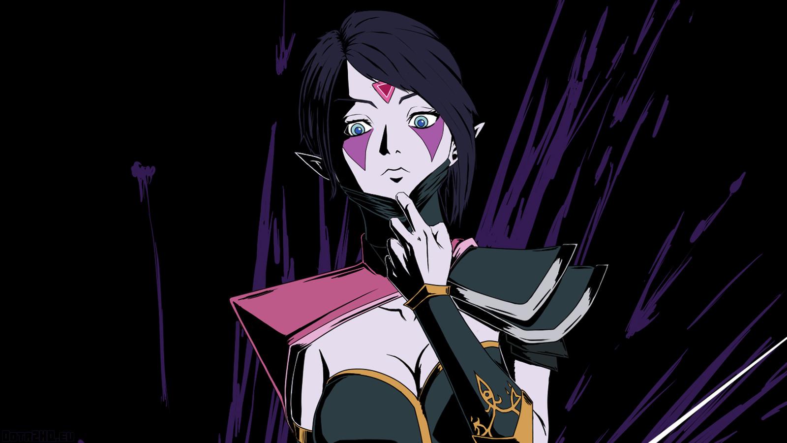 Free Download Templar Assassin Lanaya Dota 2 Hero Girl Game Hd