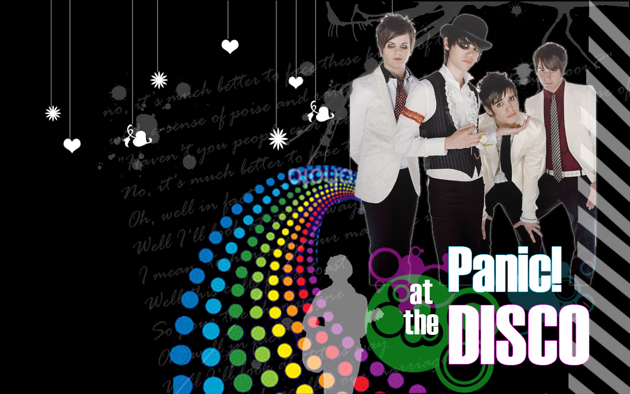 Panic at the Disco Wallpaper by xogymnast4everx3 1280x800
