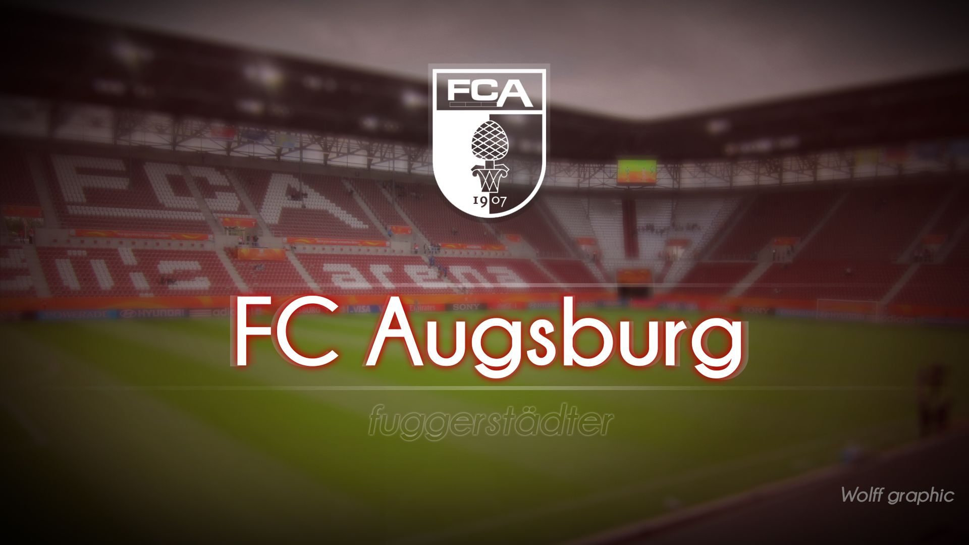 FC Augsburg Wallpaper by Wolff10 BL   FC Augsburg 1920x1080
