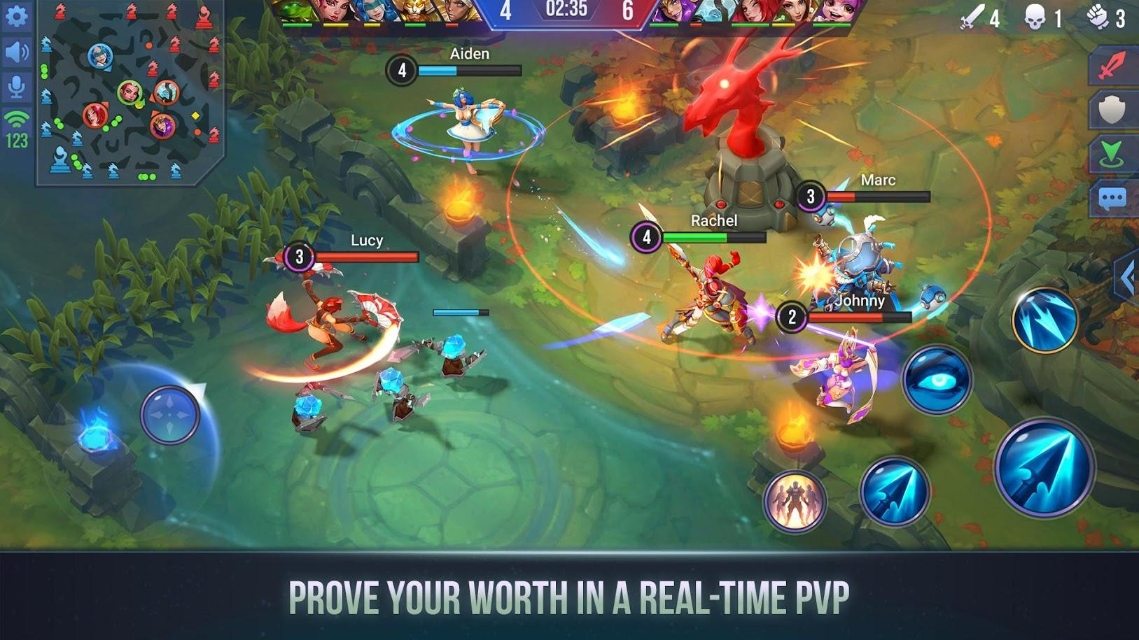 Dungeon Hunter Champions Epic Online Action RPG for Android 1627x915
