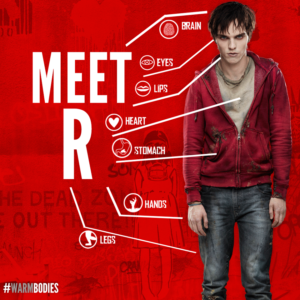 Nicholas Hoult in Warm Bodies wallpaper 960x960