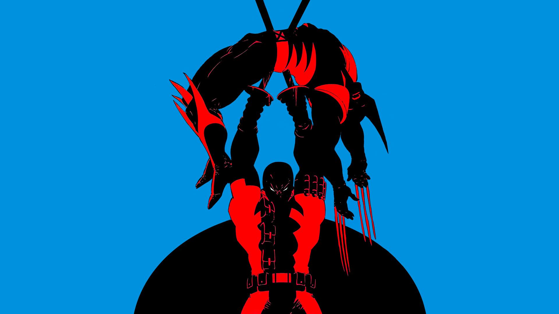 X Men Origins Wolverine vs Deadpool HD Wallpaper Background 1920x1080