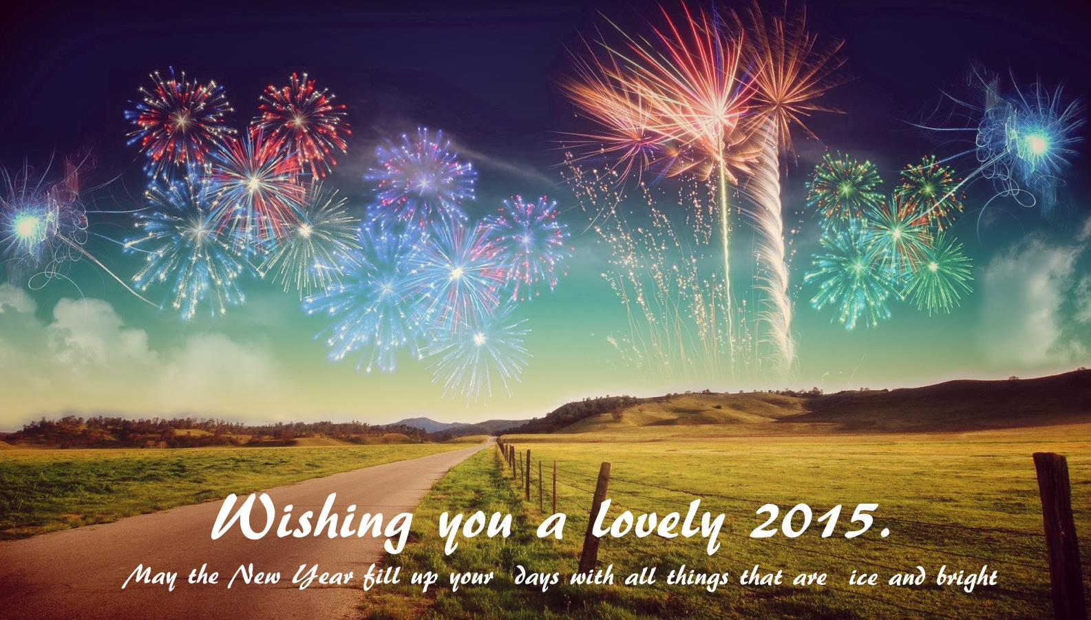 Amazing New Year Wishes Wallpapers: New Year Wishes 2015 Wallpaper Hd