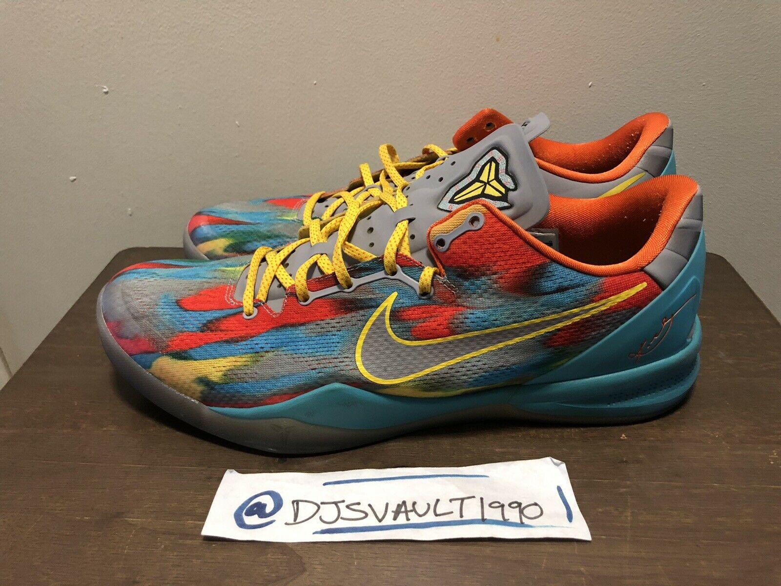 Nike Kobe 8 System Venice Beach Stadium Greysilver Size Mens 15 1600x1200