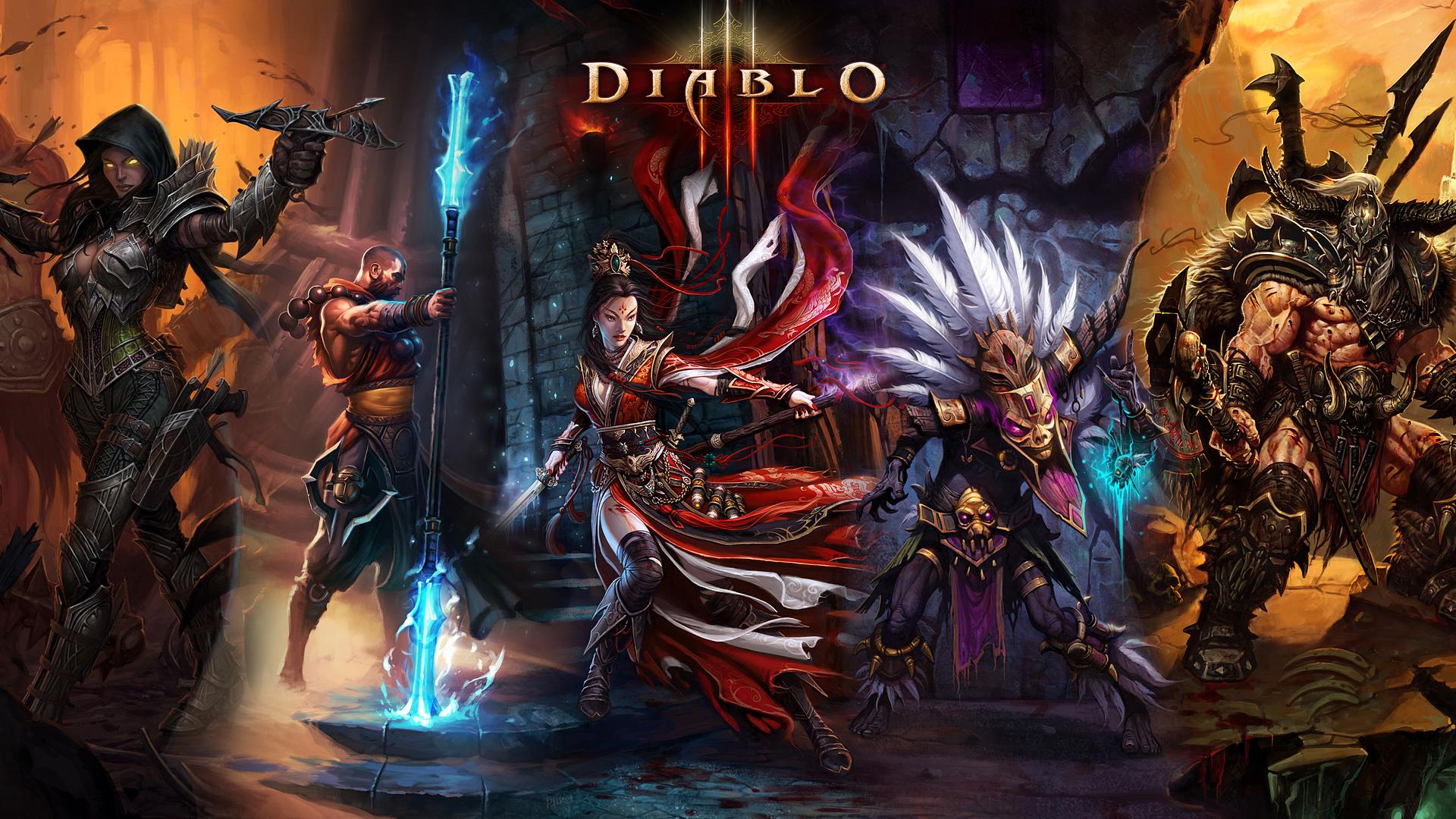 Diablo 3 Wallpaper 1920x1080: Diablo Animated Wallpaper