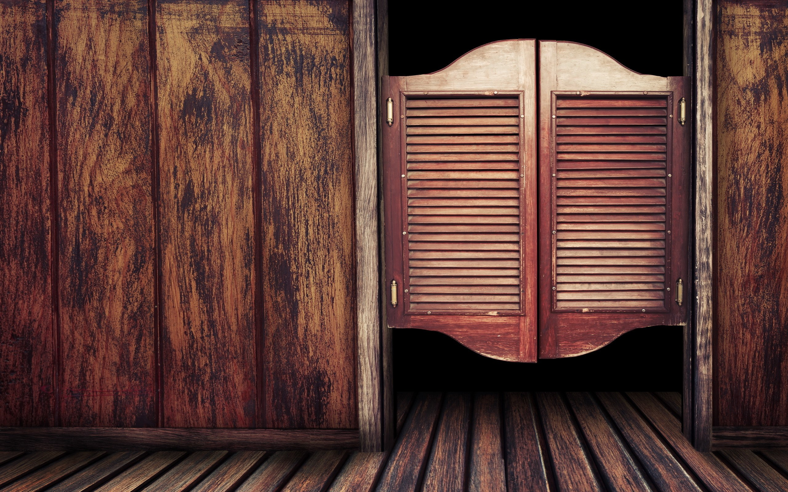 Free Download Vitage Bar Cowboys Classic Doors Wood Hd