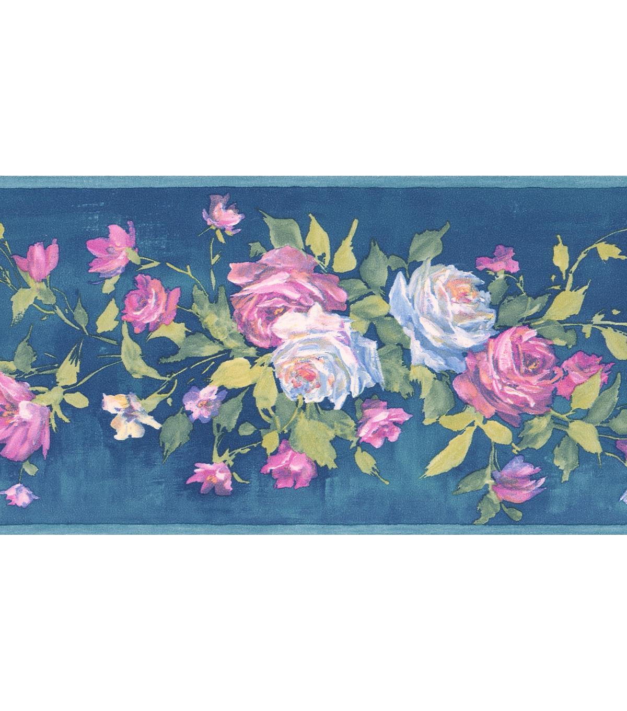 Free Download Bouquet Wallpaper Borderrosa Blue Floral Bouquet