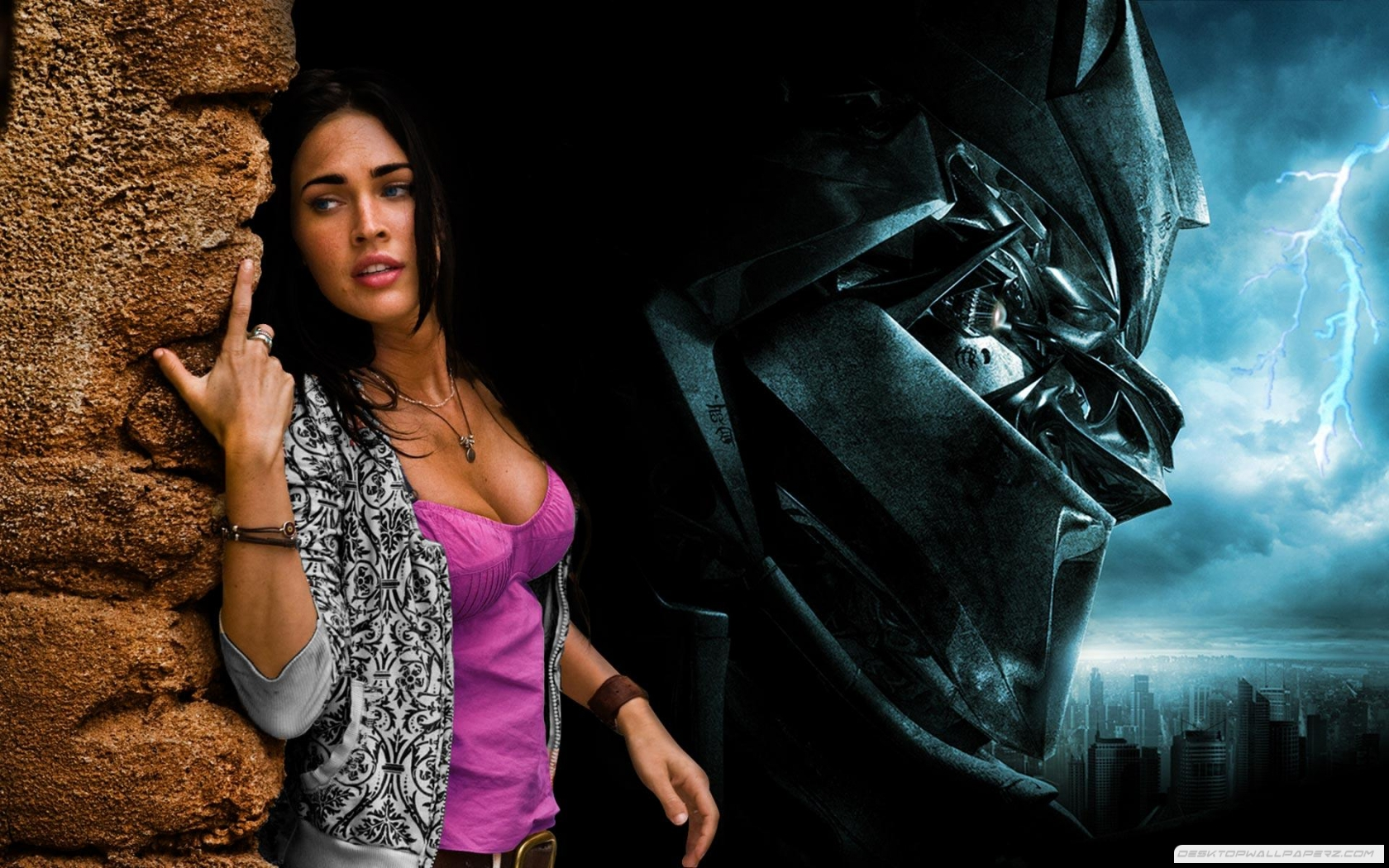 Megan Fox Transformers 16801050 66160 HD Wallpaper Res 1680x1050 1680x1050