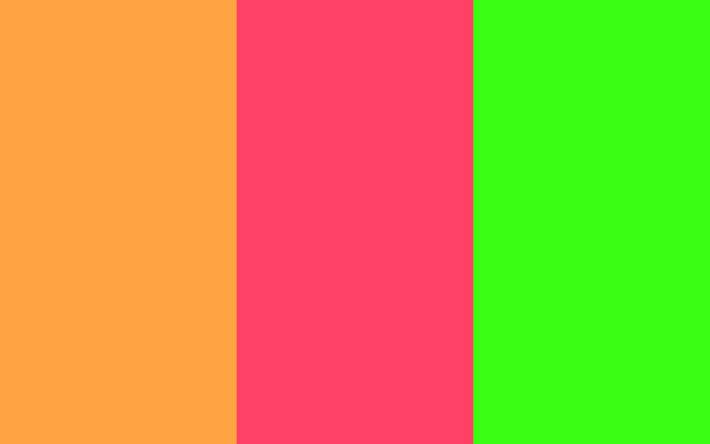 neon carrot neon fuchsia neon green three color backgroundjpg 1440x900