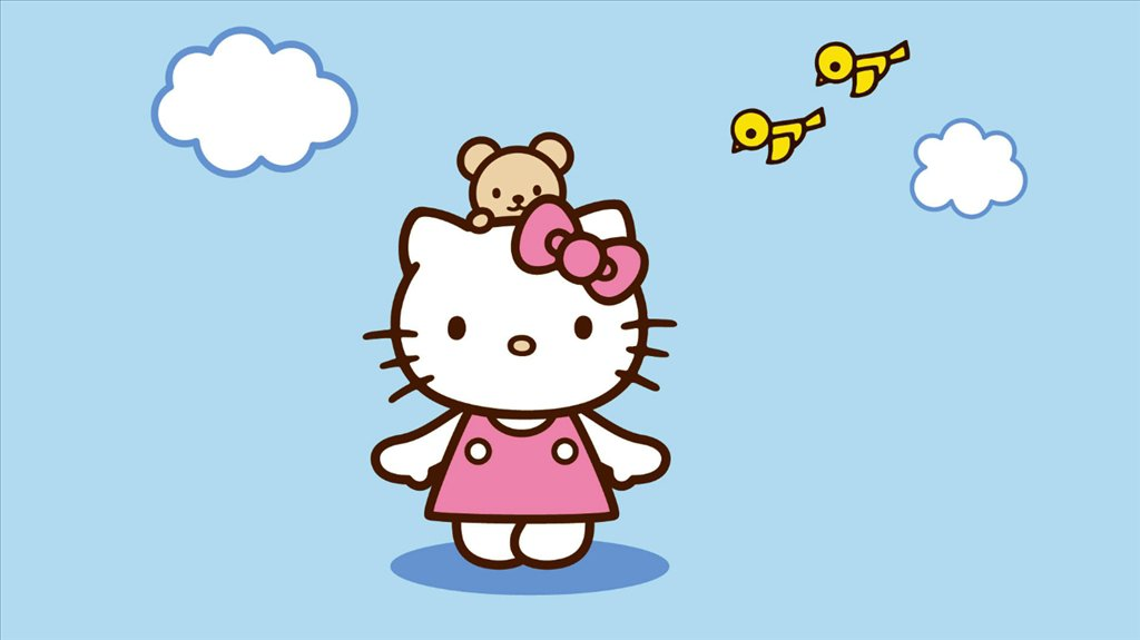 Hello Kitty Wallpaper   Download for PC 1024x575