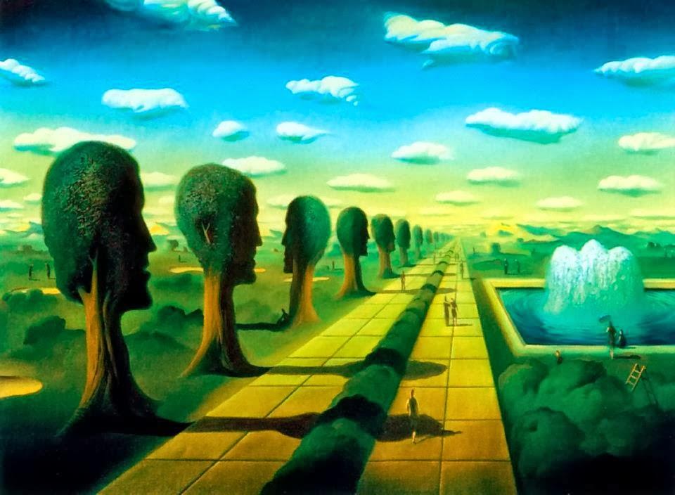 DREAM ZONE Vladimir Kush Paintings Wallpapers 960x704