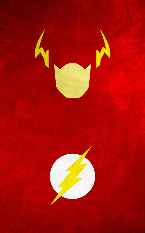 10 Minimalist Superhero iPhone wallpapers 500x800